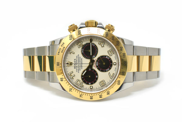 Rolex Daytona 40mm Panda Dial - Fixed Engraved