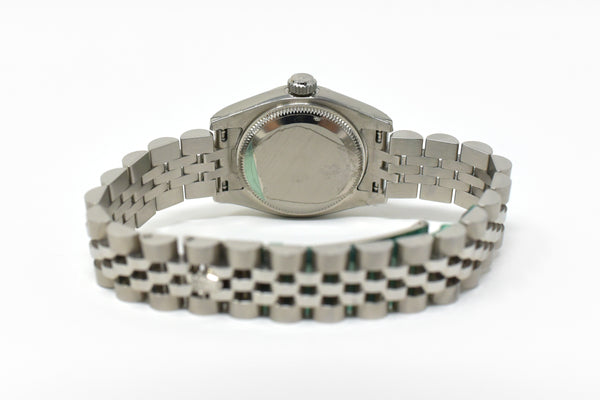 Rolex Datejust Ladies 26mm Silver Dial Fluted Bezel