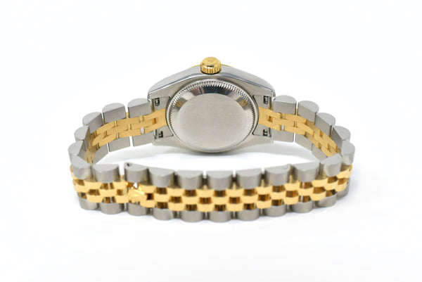Rolex Datejust Ladies 26mm Gold Dial - Fluted 18K