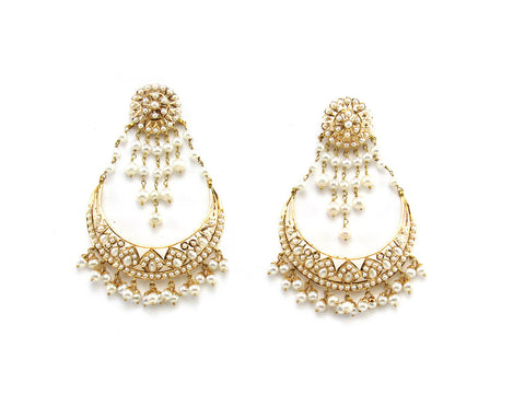 25.20g 22Kt Gold Jarou Earring India Jewellery