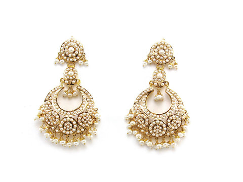 31.20g 22Kt Gold Jarou Earring India Jewellery