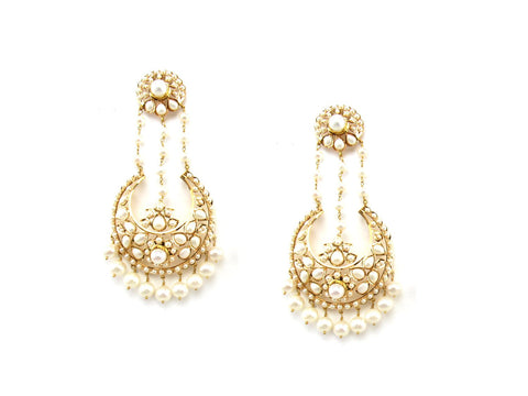 41.60g 22Kt Gold Jarou Earrings - 1609