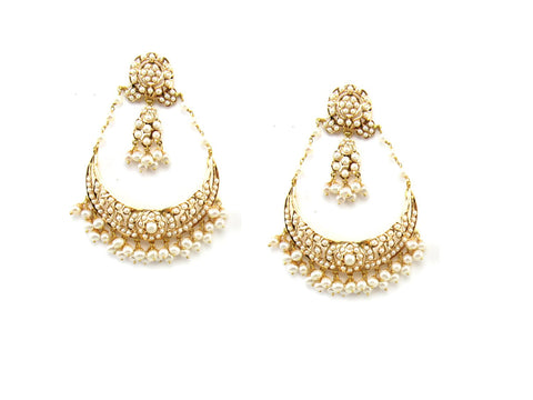 29.55g 22Kt Gold Jarou Earrings - 1610