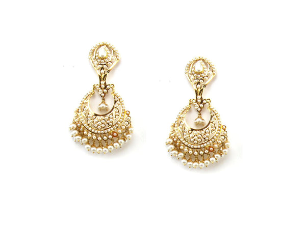 28.30g 22Kt Gold Jarou Earrings - 1615
