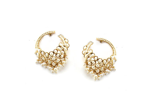 22.70g 22Kt Gold Jarou Earrings - 1616