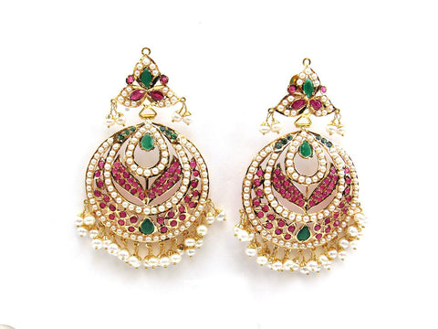 33.10g 22Kt Gold Jarou Earrings - 2107