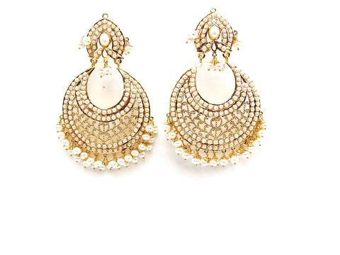 33.46g 22Kt Gold Jarou Earrings - 2115