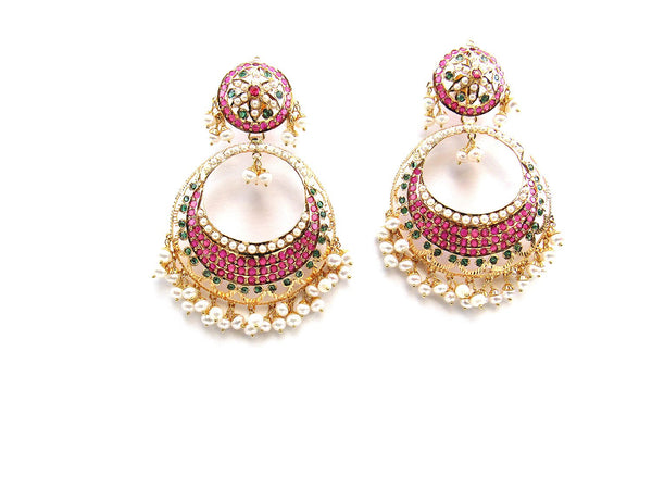 30.30g 22Kt Gold Jarou Earrings - 2116