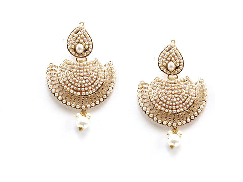 24.90g 22Kt Gold Jarou Earrings - 2119