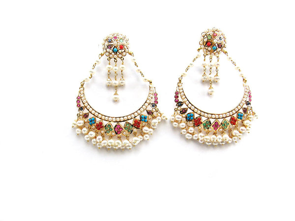 26.28g 22Kt Gold Jarou Earrings - 2130