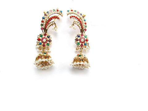 34.60g 22Kt Gold Jarou Earrings - 2137
