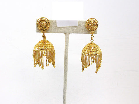 22.50g 22Kt Gold Jumki Earrings - 2150