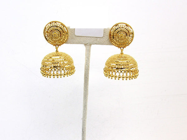 26.40g 22Kt Gold Jumki Earrings - 2159