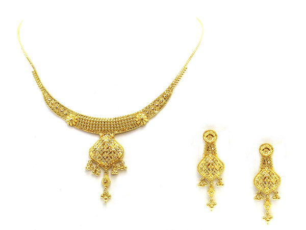 29.20g 22Kt Gold Yellow Necklace Set