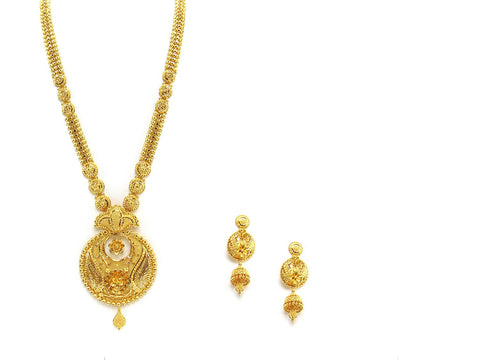 101.70g 22Kt Gold Haar Necklace Set - 2326