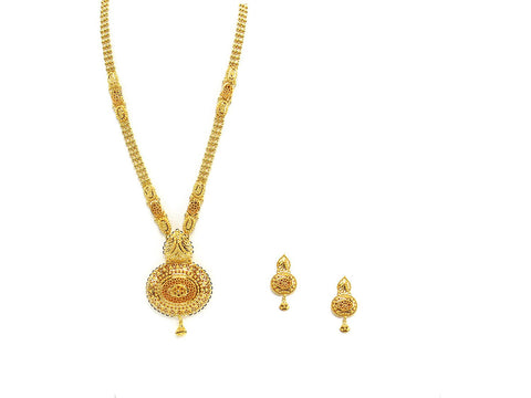 72.20g 22Kt Gold Haar Necklace Set - 2330
