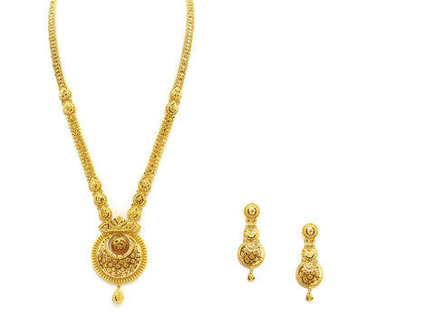 64.20g 22Kt Gold Haar Necklace Set - 2332