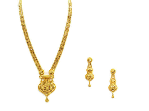 61.16g 22Kt Gold Haar Necklace Set - 2333
