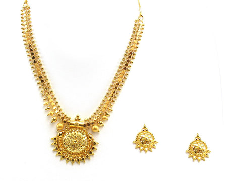 30.16g 22Kt Gold Yellow Necklace Set 2419