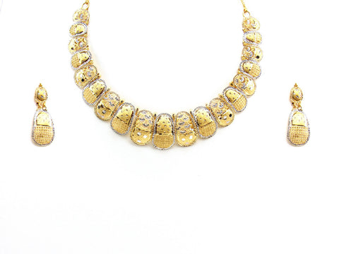 37.11g 22Kt Gold Yellow Necklace Set 2427