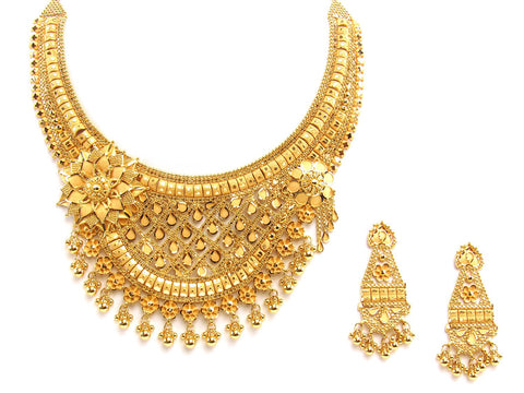 79.10g 22Kt Gold Yellow Necklace Set