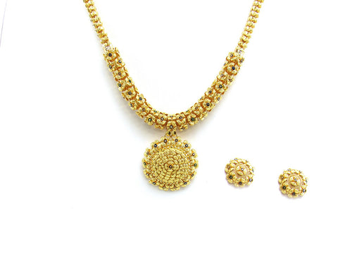 49.60g 22Kt Gold Yellow Necklace Set