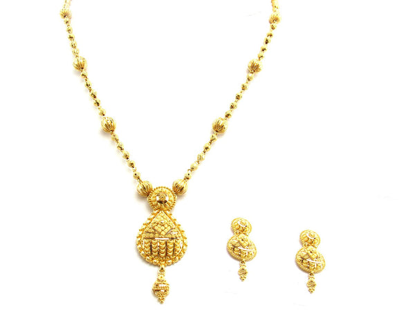 25.80g 22Kt Gold Yellow Necklace Set