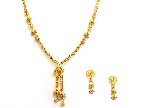 31.00g 22Kt Gold Yellow Necklace Set