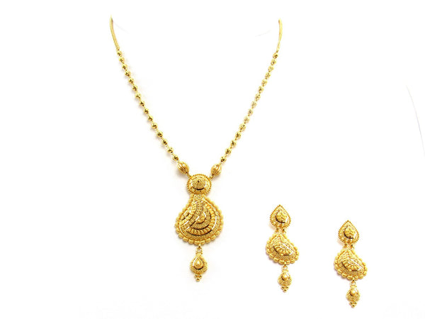 28.00g 22Kt Gold Yellow Necklace Set
