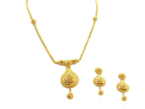 28.80g 22Kt Gold Yellow Necklace Set