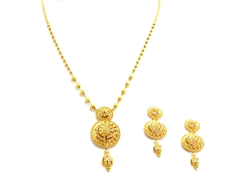 30.20g 22Kt Gold Yellow Necklace Set