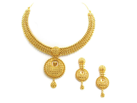 67.55g 22Kt Gold Yellow Necklace Set