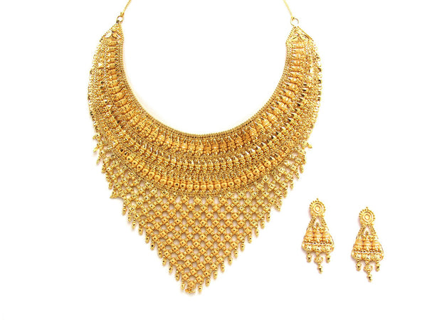 69.80g 22Kt Gold Yellow Necklace Set
