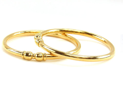 31.50g 22Kt Gold Stackable Bangle Set (Sz: 6)