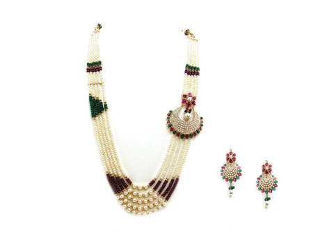 47.10g 22Kt Gold Jarou Necklace Set