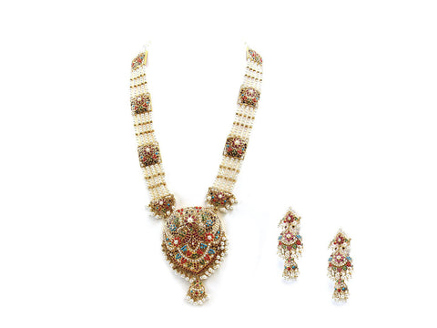 121.50g 22Kt Gold Jarou Necklace Set