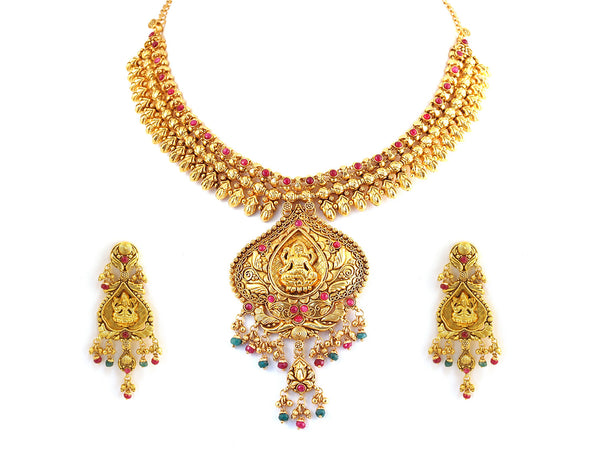 72.25g Antique Necklace Set -