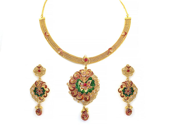 60.25g Antique Necklace Set -