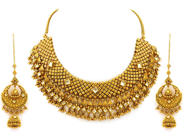 185.90g Antique Necklace Set -