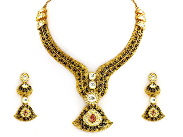 98.10g Antique Necklace Set -