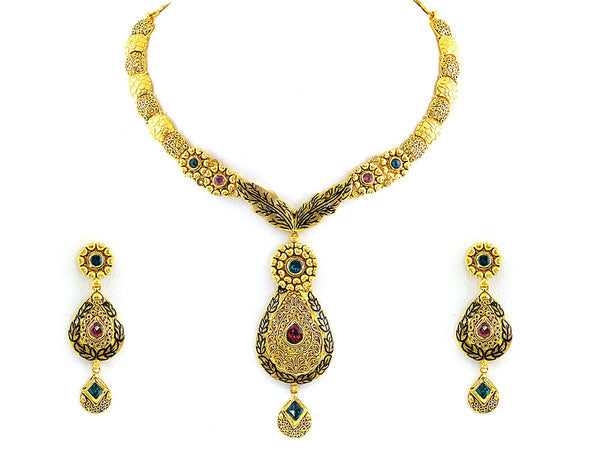 66.00g Antique Necklace Set -
