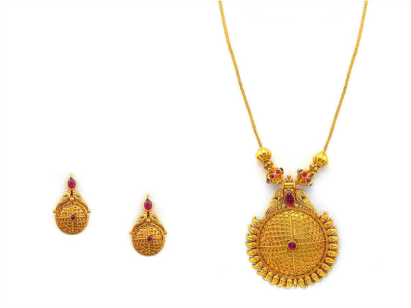 36.72g Antique Necklace Set -