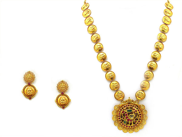 56.38g Antique Necklace Set -