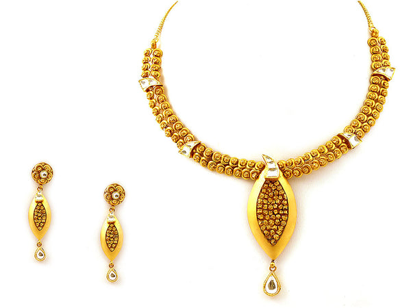 51.75g Antique Necklace Set -