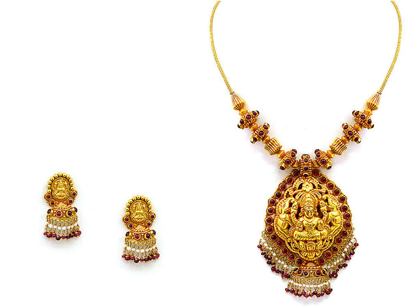 58.40 Antique Necklace Set -