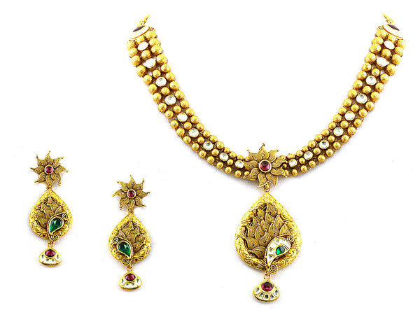 83.50g Antique Necklace Set -