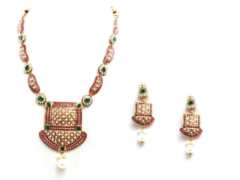 37.80g 22Kt Gold Jarou Necklace Set - 2064