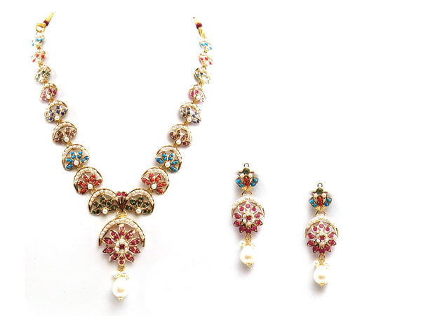 36.30g 22Kt Gold Jarou Necklace Set - 2068