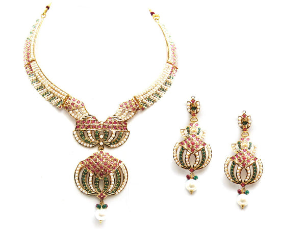 53.70g 22Kt Gold Jarou Necklace Set - 2071