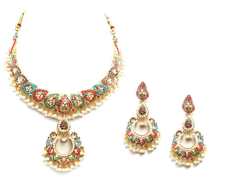 65.55g 22Kt Gold Jarou Necklace Set - 2073